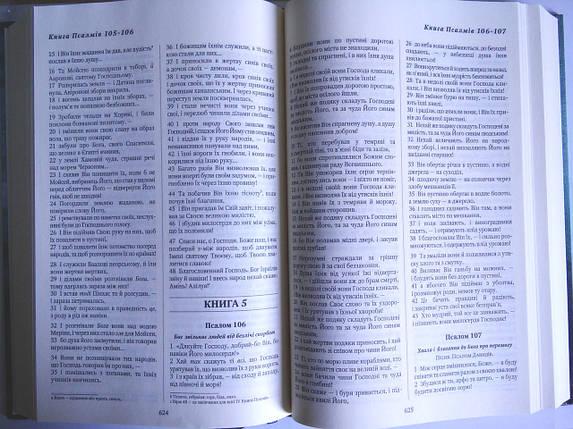 Біблія. Святе Письмо  (12х19) з орнаментом, фото 2