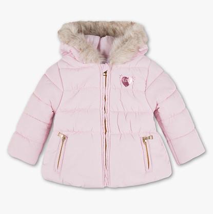 Детская розовая куртка на девочку 1-1,5 года C&A Германия Размер 86