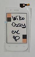 Сенсор (тачскрін) для Wiko Ozzy білий
