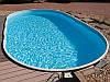 Сборный морозостойкий бассейн Mountfield Azuro DE LUXE 407DL Mosaic (9,1х4,6м \ 45000л \ h=1,2м)