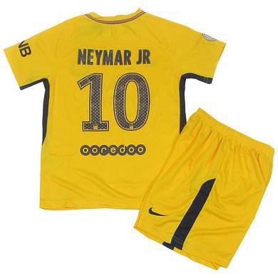 Футбольная форма PSG Neymar 2017 18 гостевая (реплика) - купить по ... 63b9313c917