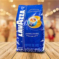 Кофе в зернах LAVAZZA Crema e aroma 1кг (кава в зернах)