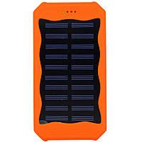 Solar power bank (повер банк) P2-12 000 MAN. Портативное зарядное устройство на солнечной батарее