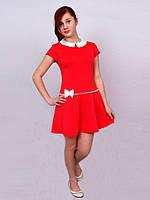 Платье  детское с длинным рукавом   М -986  рост 152.Последний разме на складе!