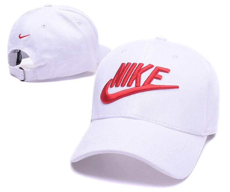 """Кепка Nike Classic """"White/Red"""" Арт. 2304"""