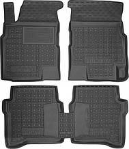 Полиуретановые коврики в салон Nissan Primera III (P12) 2002-2007 (AVTO-GUMM)