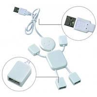 """USB-разветвитель """"Человечек"""" на  4 порта"""