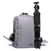 Фоторюкзак, рюкзак для фотоаппарата CADEN L5 Pro *Чехол в подарок!!!