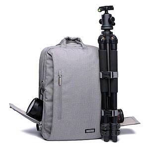 Фоторюкзак, рюкзак для фотоапарата CADEN L5 Pro *Чохол в подарунок!!!