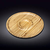 Блюдо бамбуковое Wilmax Bamboo 25 см WL-771047