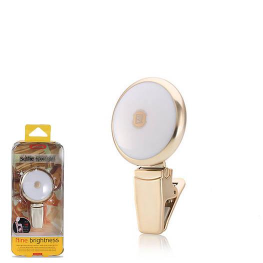 Мини-прожектор для селфи Remax twilight spray selfie spot