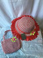 Комплекти дитячі (капелюх+сумочка)
