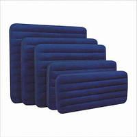 Велюр матрац 68759  синий сред 152-203-22 см(68759)