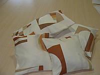 Комплект подушек Абстракция коричневая, 4шт, фото 1