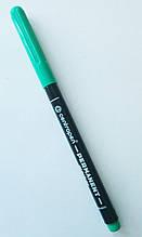 Маркер перманентный Centropen 1мм зеленый 2536