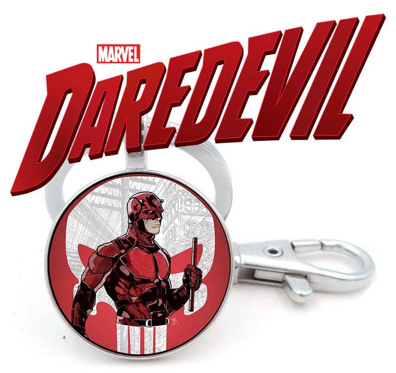 Брелок с изображением Daredevil Сорвиголова + Каратель Punisher