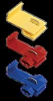 Зажимы-ответвители, прокалывающие изоляцию ЗПО-1 1,0-2,5 мм2 синий (100 шт) IEK