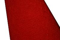 Фетр 2мм (разные цвета) 25х25см Красный (C2)