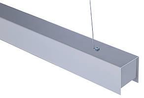 Megane-600: 9W 900Lm линейный LED-светильник (60х60х600мм)