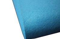Фетр 1мм (разные цвета) 25х25см Голубой (C12)