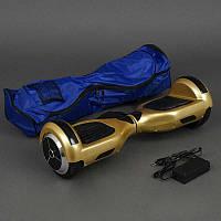 Гироскутер А 3-6 / 772-А3-6 Classic (1) ЗОЛОТИСТЫЙ,  колёса диаметром 6,5 дюймов, Bluetooth, СВЕТ, в сумке