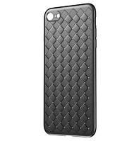 Чехол Baseus BV Weaving для Apple iPhone 7 / iPhone 8 - Black (WIAPIPH8N-BV01), фото 1