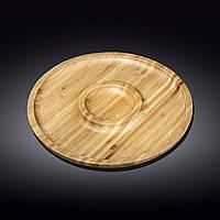 Блюдо бамбуковое Wilmax Bamboo 35,5 см WL-771049