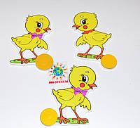 Магнитный стенд для крепления рисунка Цыпленок желтый