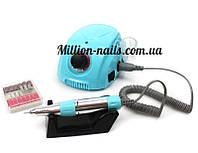 Профессиональный фрезер DM-212 для маникюра и педикюра , 35 тыс.об/мин. 35 ватт (голубой)