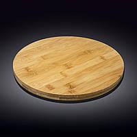 Блюдо бамбуковое  Wilmax Bamboo 33 x 4 см WL-771080