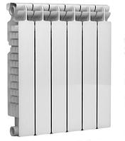 Радиатор NOVA FLORIDA EXTRA THERM SUPER ALETERNUM 500х100 АЛЮМИНИЙ + покрытие ALETERNUM, фото 1