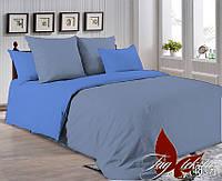 Полуторный комплект постельного белья поплин Р-3917(4037) ТM TAG