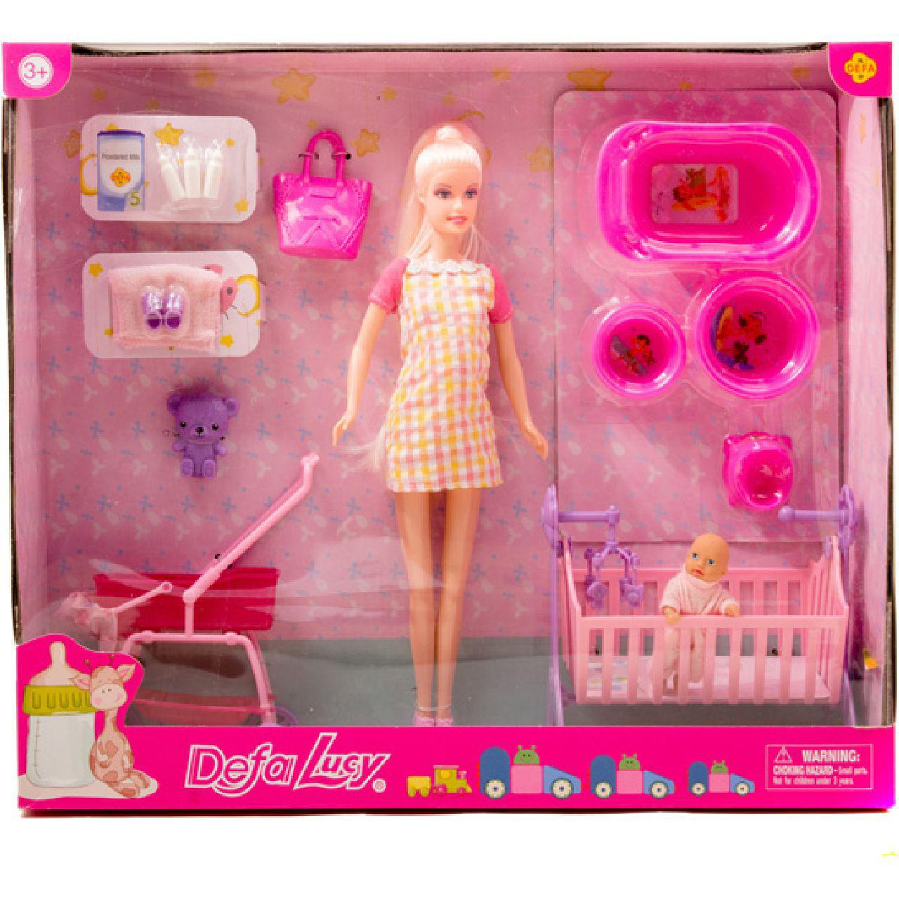Кукла будущая мама Defa 8363, фото 1