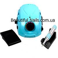 Профессиональный фрезер для маникюра DM-212  на 35 тыс.об/мин9 35 ватт(голубой)