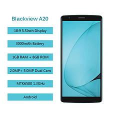 Blackview A20 Gold, MT6580A, 1GB/8GB + силіконовий чохол, фото 2
