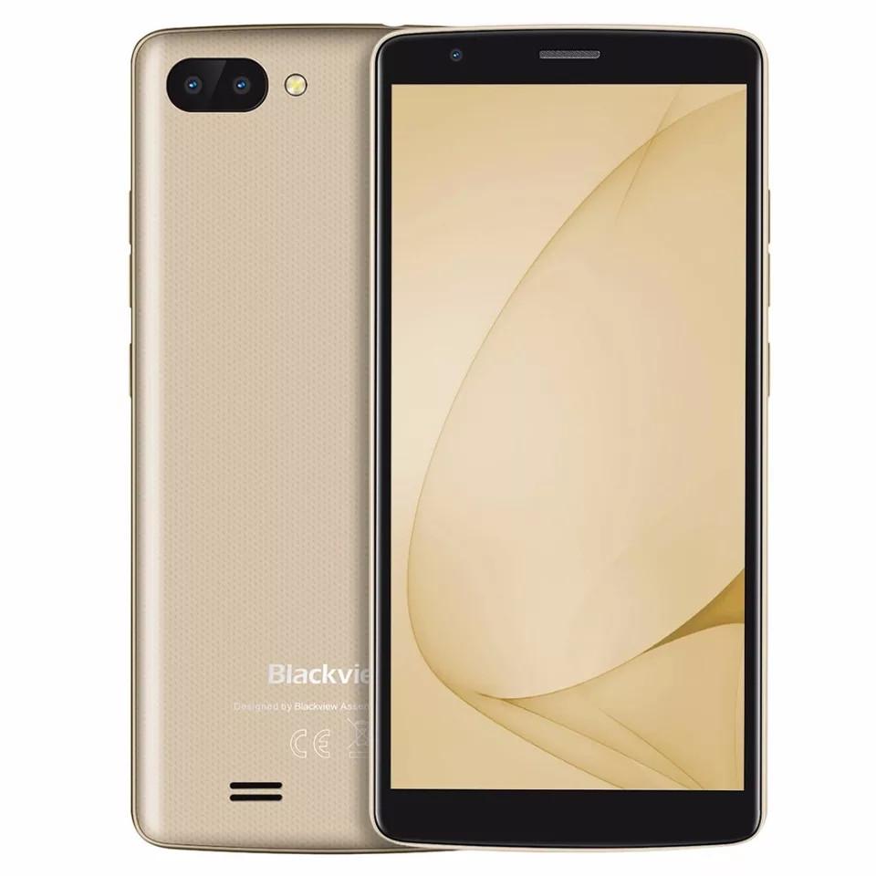 Blackview A20 Gold, MT6580A, 1GB/8GB + силіконовий чохол