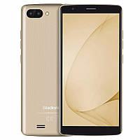Blackview A20 Gold, MT6580A, 1GB/8GB + силиконовый чехол