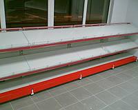 Новые стеллажи торговые ВИКО. Торговое оборудование для АЗС. Торговые стеллажи для автомагазина Киев, фото 1