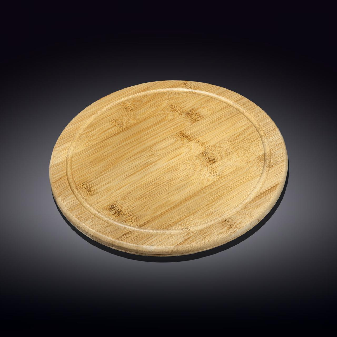 Блюдо бамбуковое Wilmax Bamboo 25,5 см WL-771088