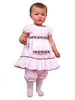Платье нарядное детское летнее  М -988 рост 80 86 92 98
