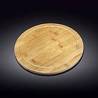 Блюдо бамбуковое Wilmax Bamboo 28 см WL-771089