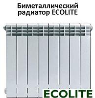 Биметаллический радиатор Ecolite 500х80, фото 1