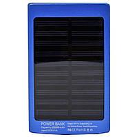 Solar power bank (повер банк) P4-20000 MAN. Портативное зарядное устройство на солнечной батарее