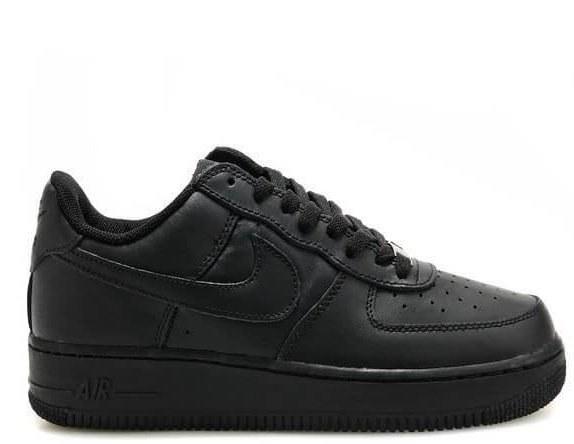 "Кроссовки Nike Air Force 1 Low ""Black"" Арт. 0028"