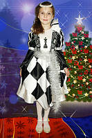 Детский новогодний костюм ''Шахматная королева''