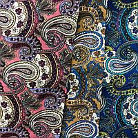 Ткань коттон набивной легкий (турецкий огурец), фото 1