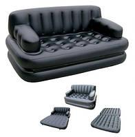 Надувной диван трансформер a класса 5 in 1 sofa bed, софа бэд,в комплект входит электрический Насос