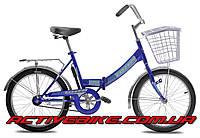 """Складной велосипед TOTEM FLIK-1 20"""" с корзинкой"""