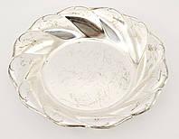 Старое посеребренное блюдо, фруктовница, металл, silver plate, Германия, BMF, фото 1