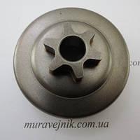 Звездочка для бензопил Husqvarna 137 / 142 (цельная), фото 1